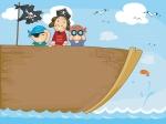 long john silver leads the mutiny aboard the hispaniola in treasure island by robert louis stevenson