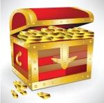 who got to take treasure from treasure island ?