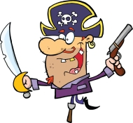 Reading–Pirates say the funniest things!–Feb. 17 – 21