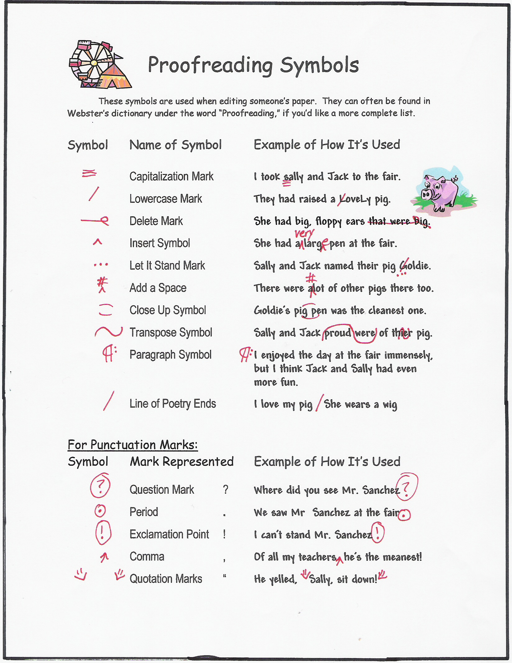 Printables Proofreading Marks Worksheet clipboards blog posts offer information on how students can make image of some the most common proofreading symbols used by editors