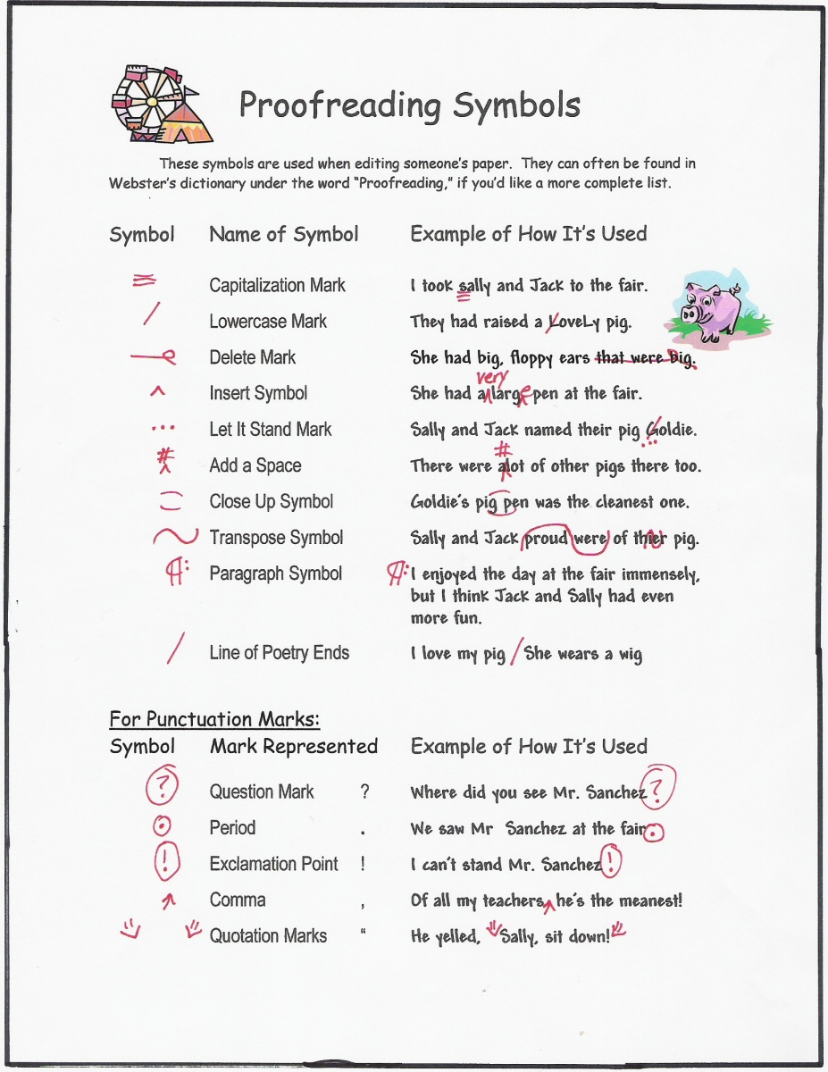 Printables Proofreading Marks Worksheet proofreading marks worksheet davezan collection of bloggakuten