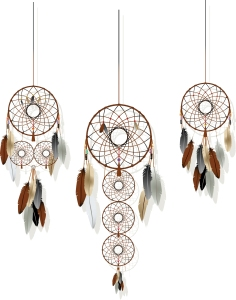 Native American dream catchers