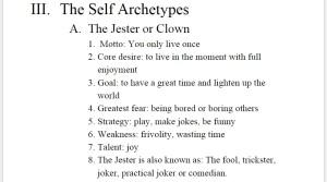 Self Jester
