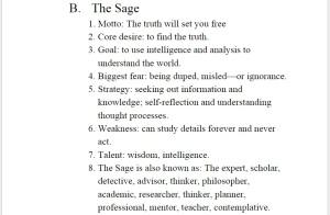 Self Sage